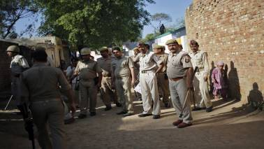 Photo shows man lynched in Hapur being dragged by locals, UP police apologises