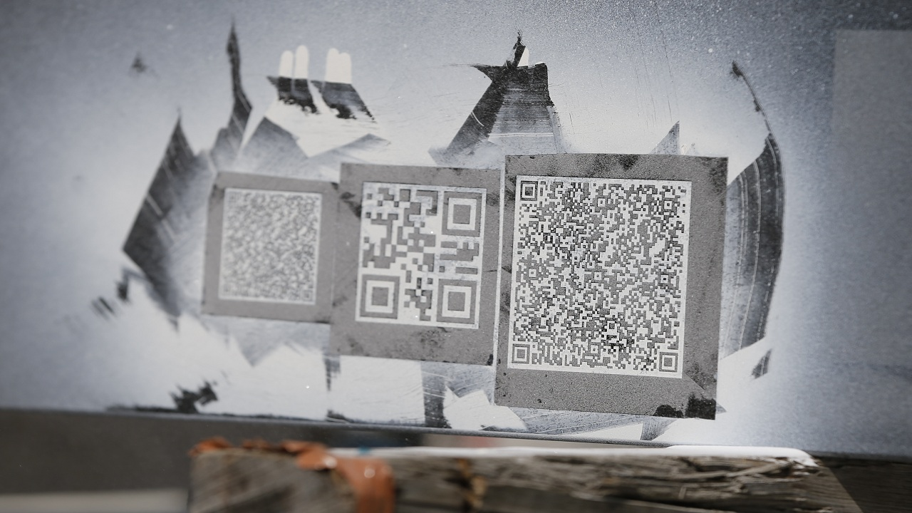 Answer: QR Code