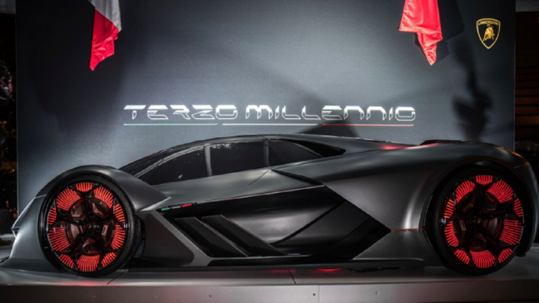 Lamborghini Unveils Self Healing Concept Car With No Batteries Moneycontrol Com