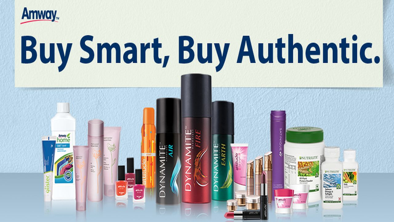 Answer: Amway (Image: Official website)
