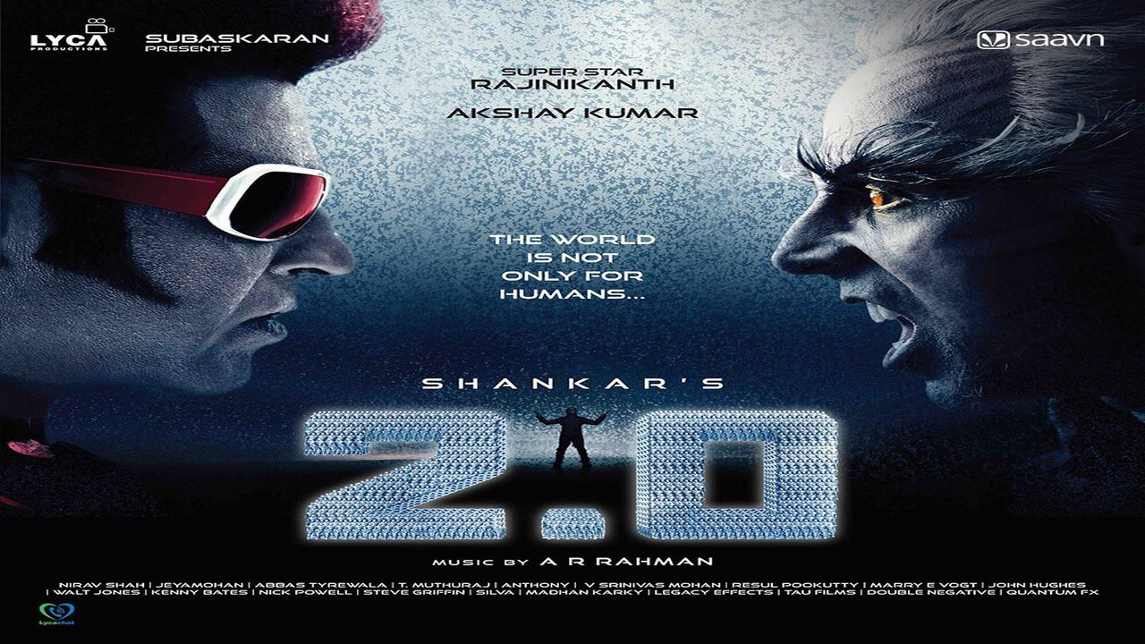2.0 is a sequel to 2010 blockbuster 'Enthiran' (released in Hindi language as Robot), which also stars Akshay Kumar and Amy Jackson. AR Rahman has composed the music for the film.