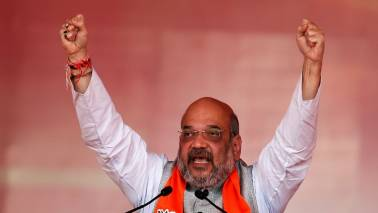 Shah accuses Meghalaya Congress leaders of pocketing funds meant for development