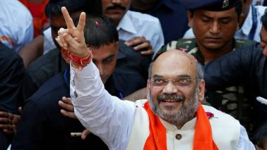 Amit Shah asks party cadre to ensure PM Modi's victory march continues in Karnataka