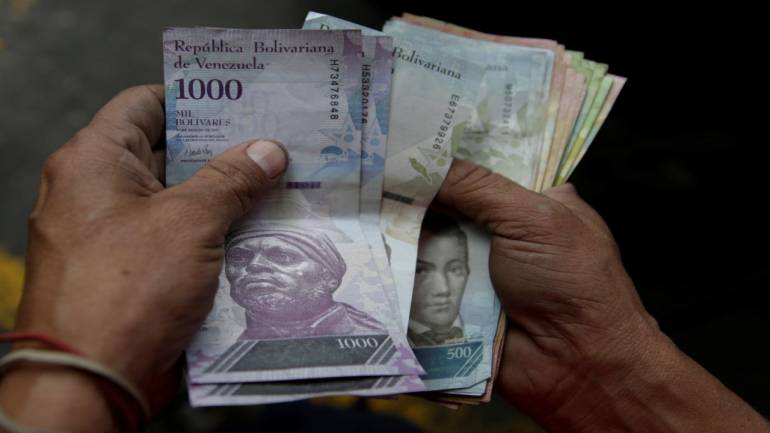 Venezuela Devalues Bolivar By 96 Under New Rate Central Bank