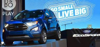 What has Ford equipped in the Ecosport Thunder Edition