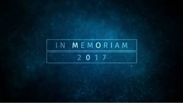 In Memoriam: Famous personalities we lost in 2017
