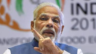 PM Modi rebuffs opposition criticism on development; targets Congress policies