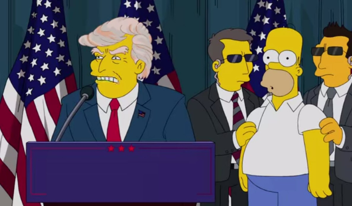 Q15. Which business magnate is being spoofed in this video of The Simpsons?