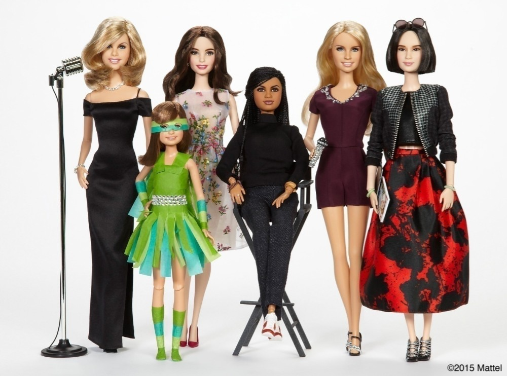 """The picture shows dolls made by Barbie for their first ever campaign X which celebrates women who """"like Barbie, have broken boundaries, challenged gender norms and proven girls can be anything they want to be, """"? Identify the campaign X?"""