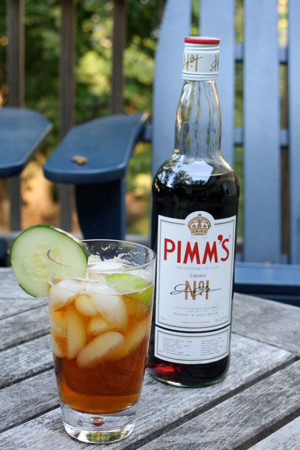 Answer 16: James Pimm or Pimm's. It is one of the two staple drinks at the Wimbledon tennis tournament, the other being champagne.