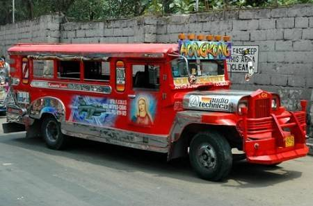 Q20. When American troops began to leave the Philippines at the end of World War II, hundreds of surplus Jeeps were sold or given to the Filipinos. They were eventually used for public transportation. The word is portmanteau Jeep and Jitney (slang for American Taxi cab). Identify this means of transportation?