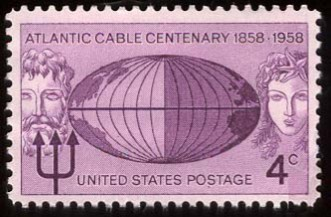 Answer 5: Trans-Atlantic Telegraph Cable. The first communications occurred on August 16, 1858, reducing the communication time between North America and Europe from ten days – the time it took to deliver a message by ship – to a matter of minutes.