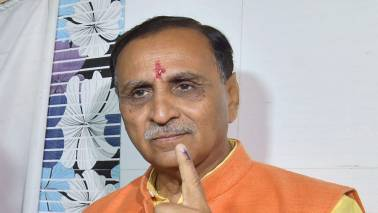 Results show people's faith in agenda of development: Vijay Rupani