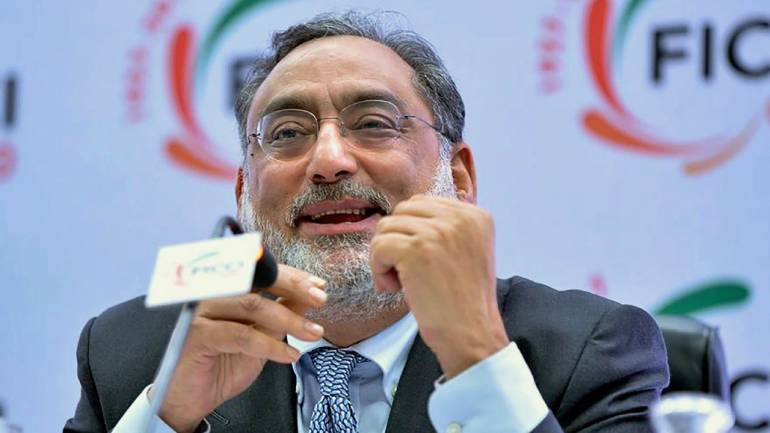J & K Finance Minister Haseeb Drabu during a special session on