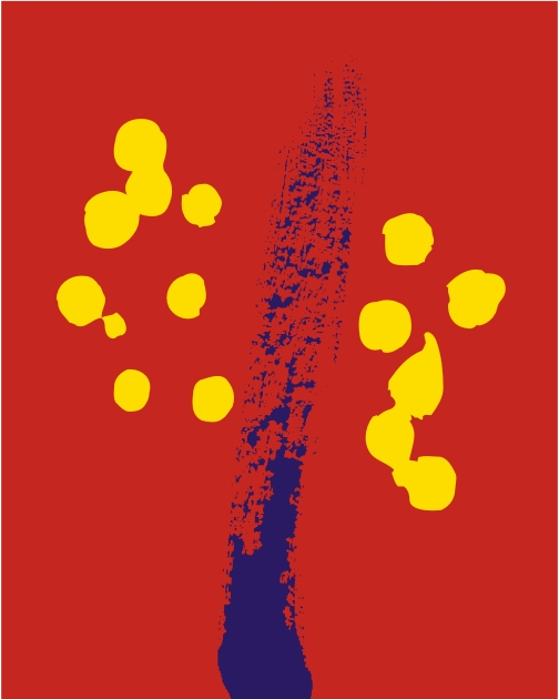"Chetan K.S. - a student in the 10th standard, designed this using the colours blue, red and bright yellow. It was presented to the world on August 18, 1999. The decisive skyward, blue brush stroke is Chetan's way of communicating imagination, the red stands for action, while the bright yellow bubbles represent joy. He created the old logo of which ""breakaway"" company. What are we talking about? 