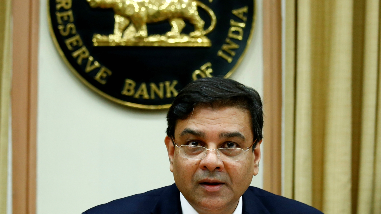 The Reserve Bank of India (RBI) Governor Urjit Patel attends a news conference after the bi-monthly monetary policy review in Mumbai, India, December 6, 2017. (Reuters)