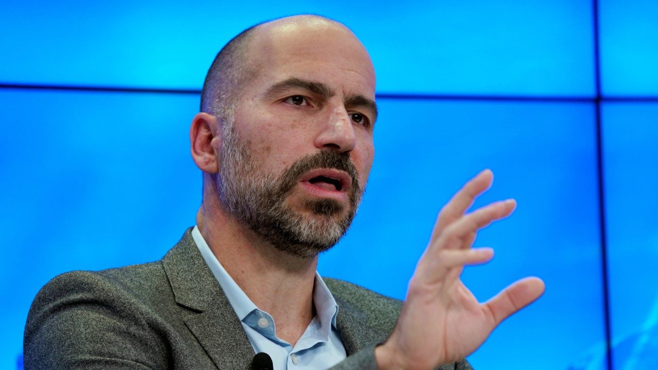 Dara Khosrowshahi, Chief Executive Officer of Uber Technologies, attends the World Economic Forum (WEF) annual meeting in Davos, Switzerland (REUTERS)