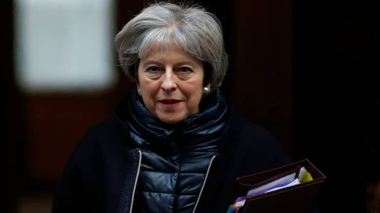 Uk Pm May Says She Wants Free Trade Deal With China Moneycontrol