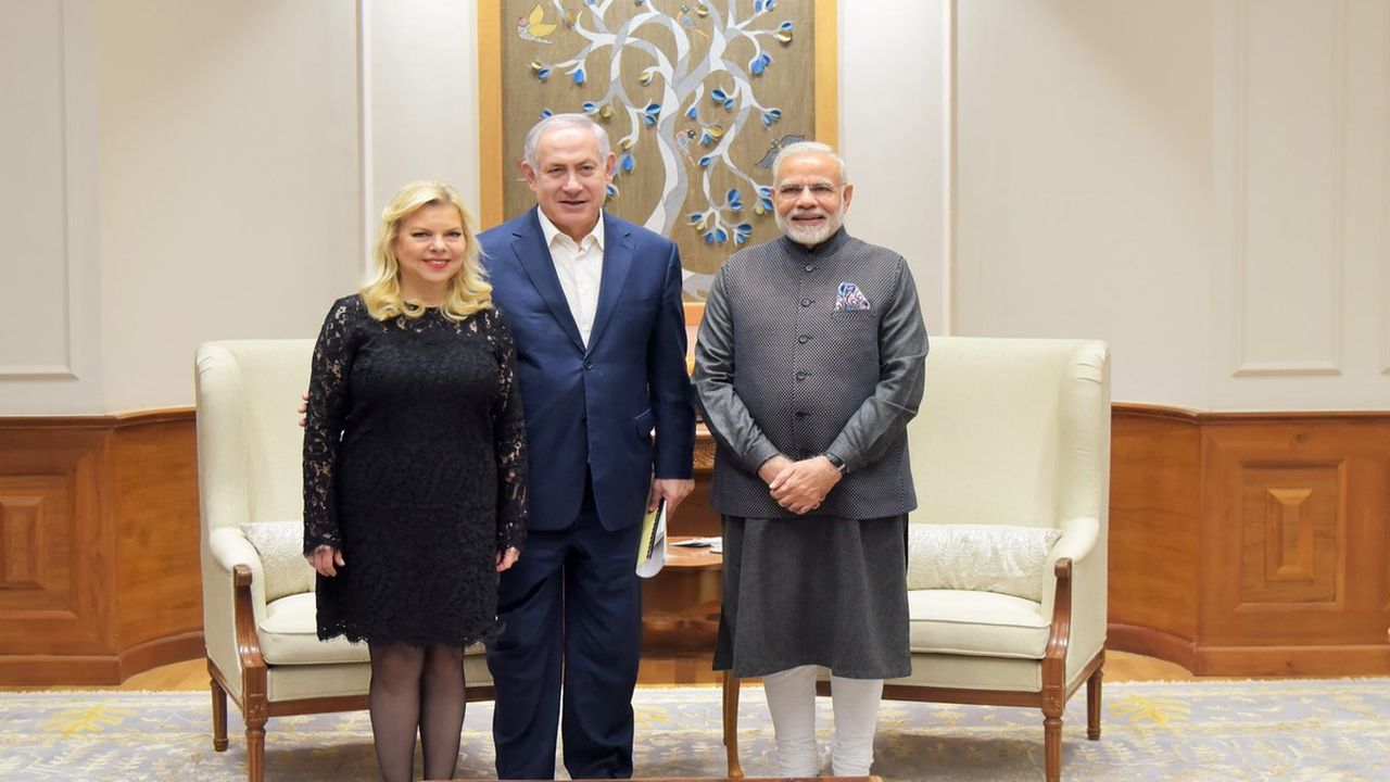 """Welcome to India, my friend PM @netanyahu! Your visit to India is historic and special. It will further cement the close friendship between our nations,"" Pm Narendra Modi tweeted in English and Hebrew. (Twitter)"