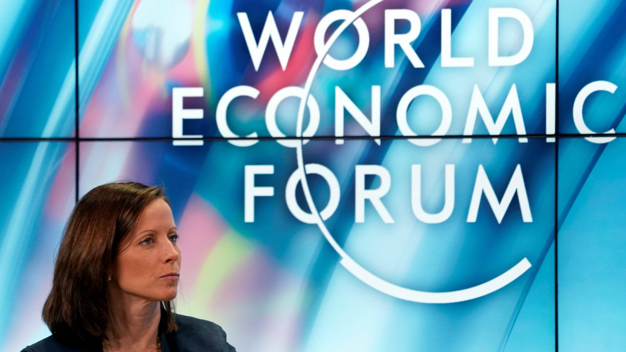 dena Friedman, President and Chief Executive Officer of Nasdaq, looks on during the World Economic Forum (WEF) annual meeting in Davos, Switzerland (REUTERS)