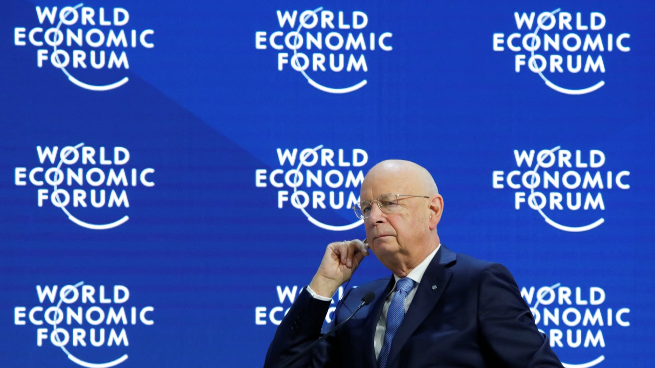 Klaus Schwab, Founder and Executive Chairman of World Economic Forum, attends the World Economic Forum (WEF) annual meeting in Davos, Switzerland (REUTERS)