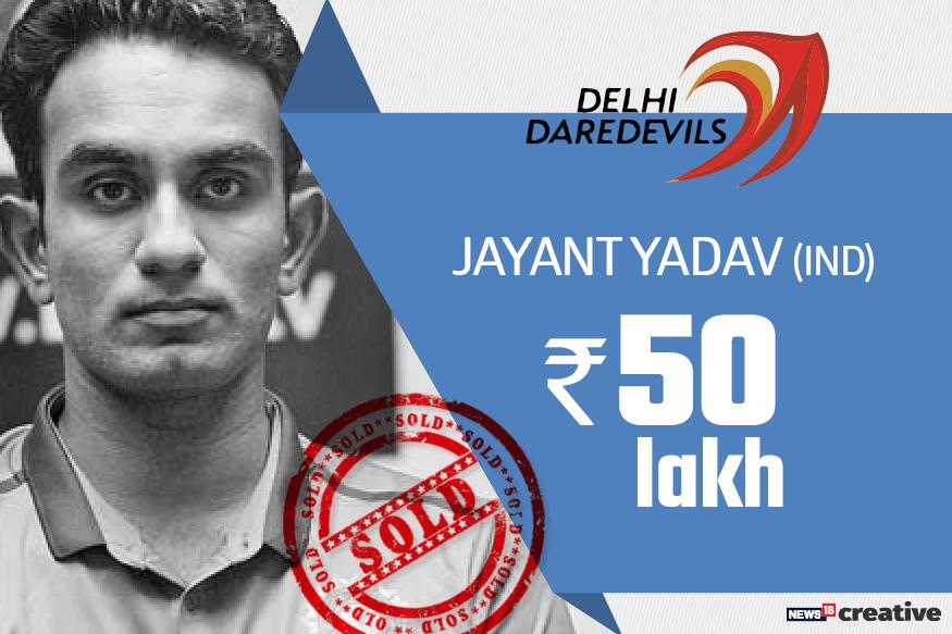 Jayant Yadav| Team: Delhi daredevils | Sold for: Rs 50 lakh