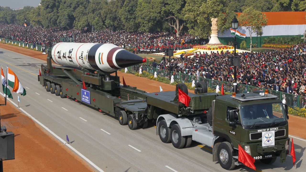 Agni-5 is most advanced missile in the Agni series with new technologies incorporated in it in terms of navigation and guidance, warhead and engine. It has a range of over 5000 km. It also has advantages of higher reliability, longer shelf life, less maintenance and enhanced mobility. (Reuters)