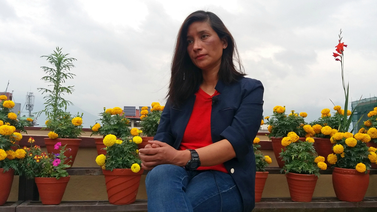 Anshu Jamsenpa is the first woman in the world who scaled the Mount Everest twice in a season, that too within just 5 days. She was chosen as an ambassador of the Swacch Bharat Abhiyaan by the government. (Picture: Reuters)