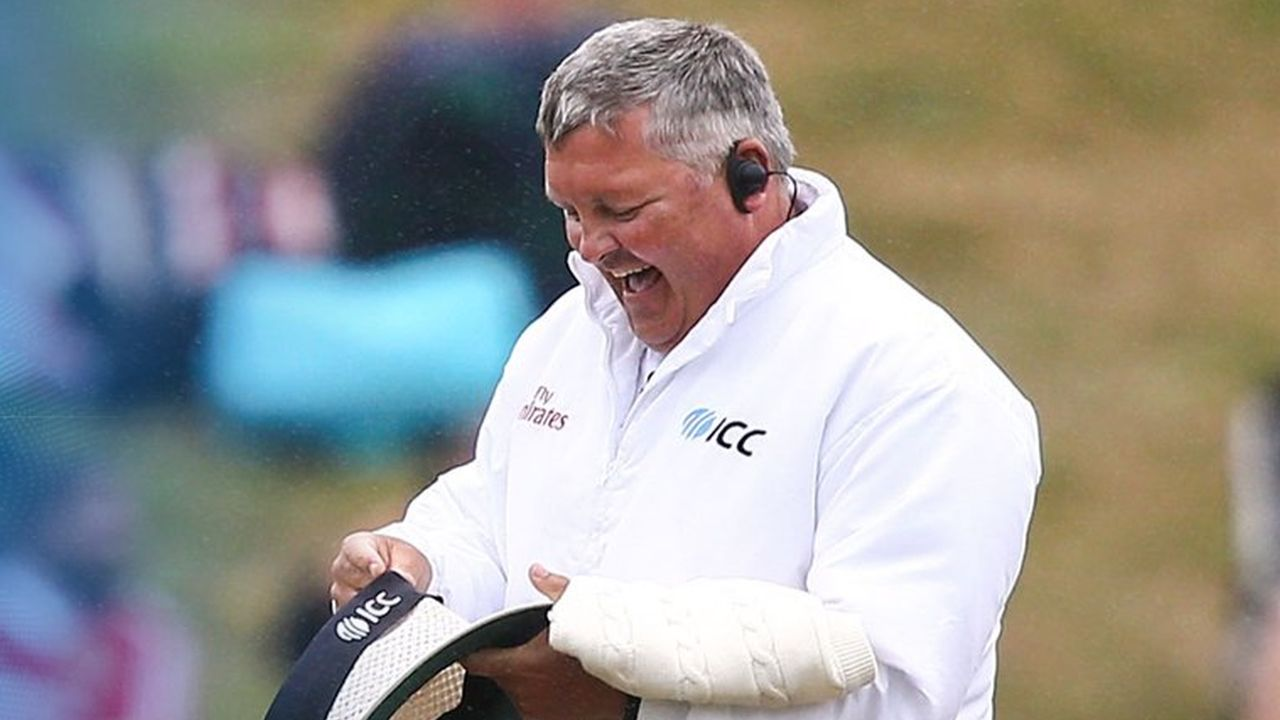 Umpire of the Year - Marais Erasmus: The 53-year-old man wins the David Shepherd Trophy for ICC Umpire of the Year. (Twitter)
