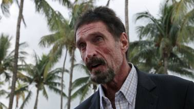 John McAfee blames banks in India for fall in cryptocurrencies, suggests not to panic