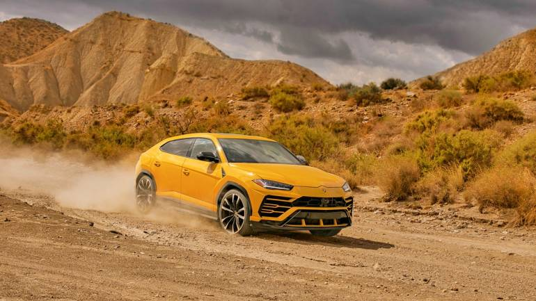 First Lamborghini Urus Suv Arrives In India Moneycontrol Com