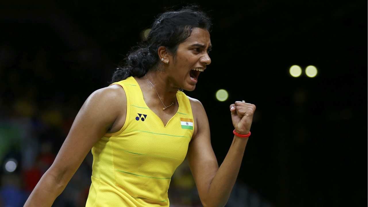 PV Sindhu | One of India's best shuttlers, Sindhu won a silver medal at the World Championships 2018 of Badminton in the women's singles category held at Nanjing, China. It makes Sindhu the only Indian woman to have four world championship podium finishes. (Image: Reuters)