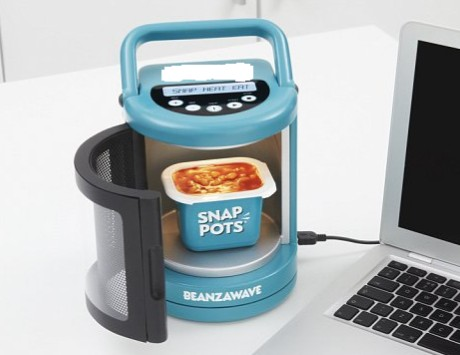 This low energy consuming product has been touted as the world's smallest microwave. Who has launched this product?