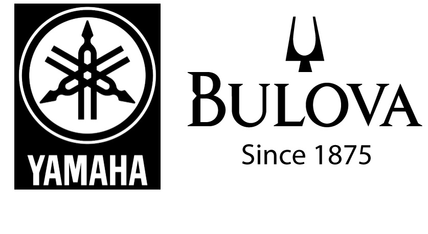 Ans 1: Tuning Fork inspiration for the logos of Yamaha and Bulova. Yamaha: Evolution of the tuning fork mark goes back to the founder Torakusu Yamaha who studied tuning by using a tuning fork while constructing the reed organ, the first product of Yamaha. Bulova: The company pioneered the Accutron movements that used a 360 hertz tuning fork to drive a mechanical gear train to turn the hands and regulate the time keeping function. The tuning fork movement was a horological revolution. Previously, electronically regulated timepieces were limited to some scientific instruments, being too large for a personal watch.