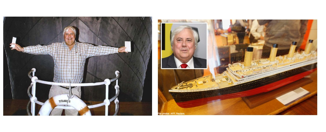 Ans 2: Australian billionaire and tycoon Clive Palmer has formed Blue Star Line, to build the Titanic II, a replica of the original. Terry Ismay is a descendant of Joseph Bruce Ismay, the titanic survivor and chairman of White Star Line, the company which built the Titanic. The ship will be built in China and is set to be completed in 2016. Palmer hopes to re-create the Titanic as closely as possible with its familiar outside looks and also on the inside.
