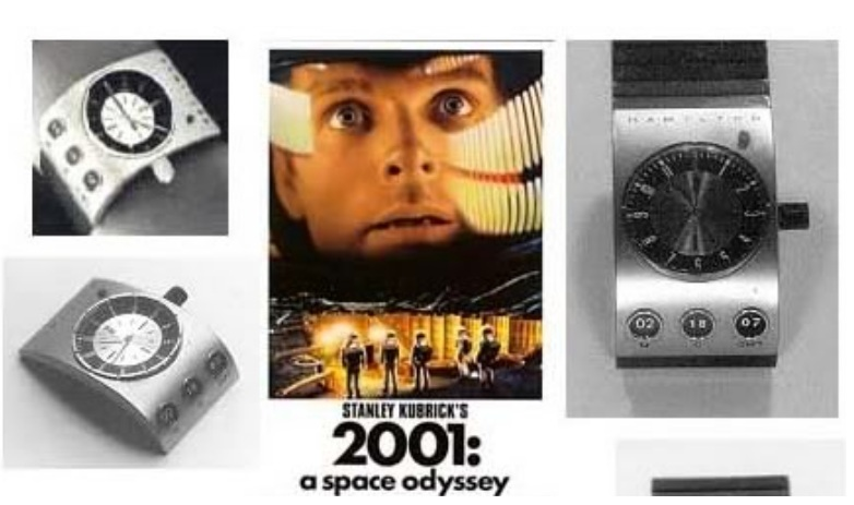 Ans 6: The first digital watch, the film 2001: A Space Odyssey.