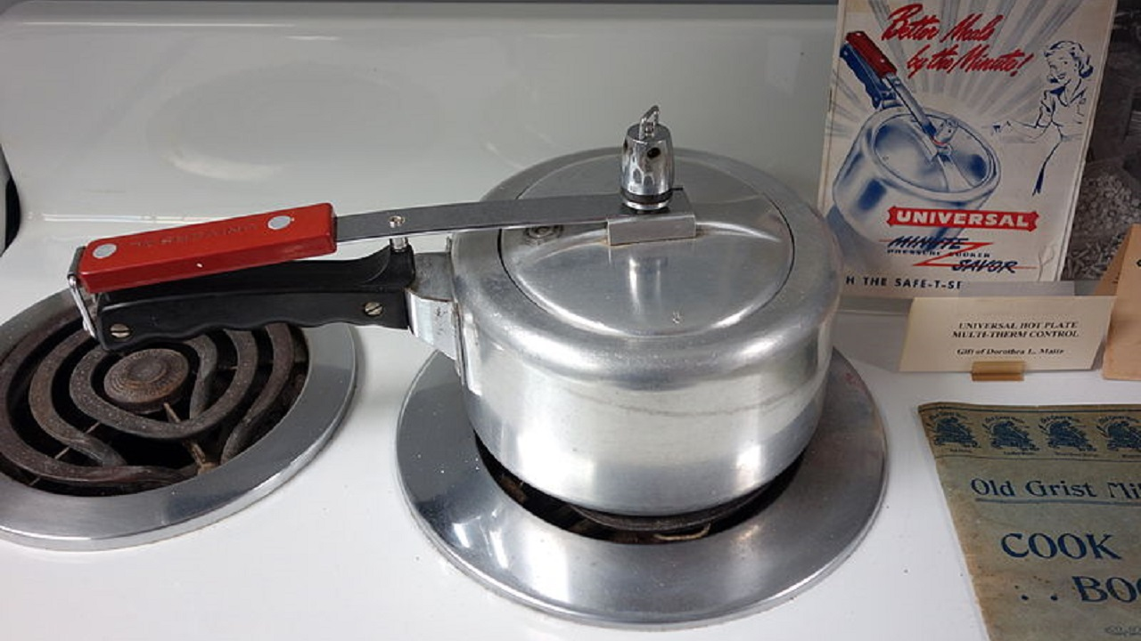 1983-84 || To economise on housewives' fuel bills without affecting the nutritional and, the gastronomic value of what they cook, this budget proposed to exempt one product from excise duties. Which is this product? Ans: Pressure Cooker (Wikimedia Commons)