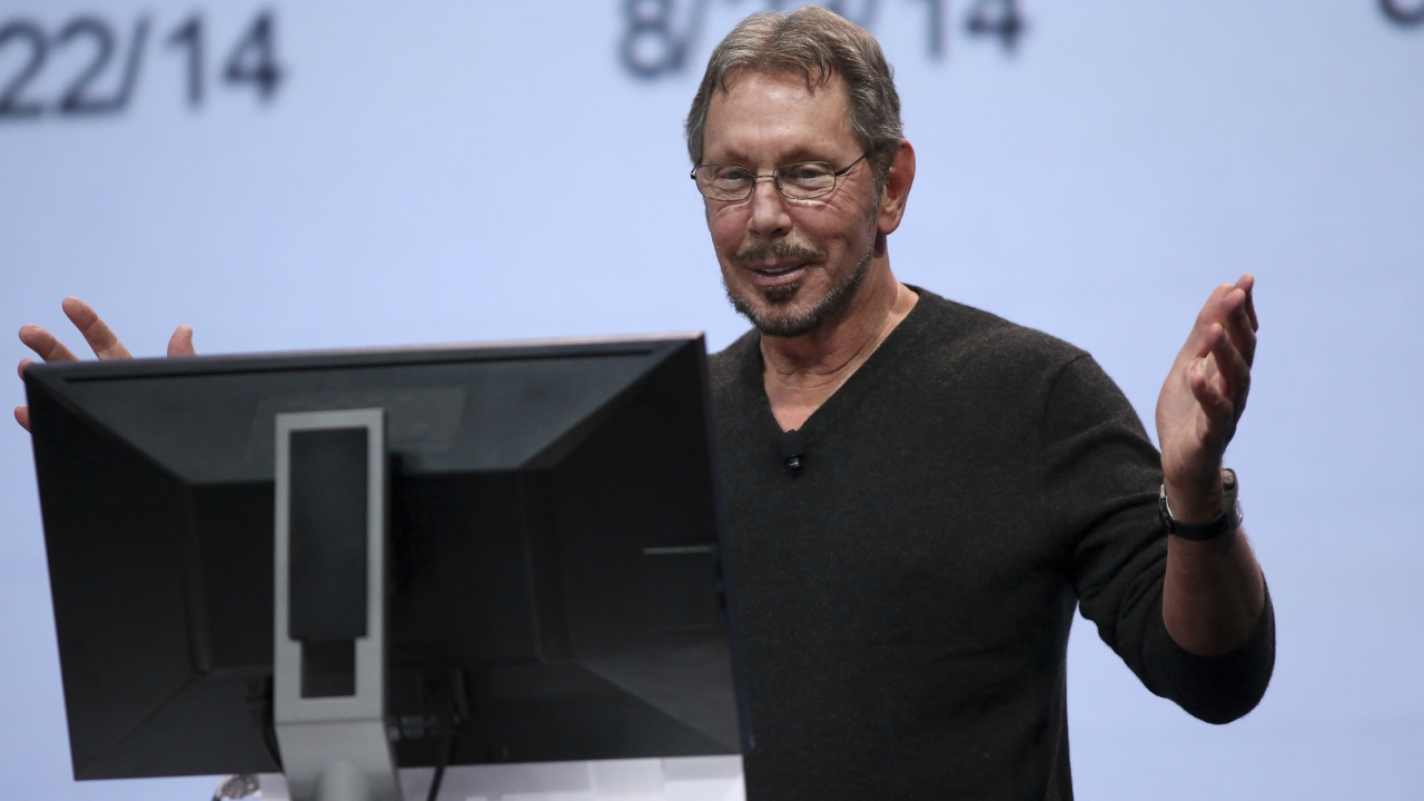 Larry Ellison: The Chairman and Chief Technology Officer (CTO) of Oracle, also lost $7 billion amidst forecast reflecting slow sales growth for cloud-related products in March 2018. (Image: Reuters)
