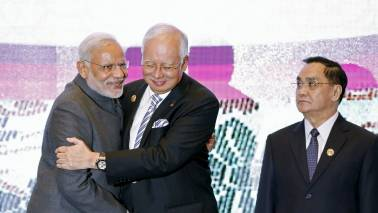 PM Narendra Modi holds talks with counterparts from Malaysia, Laos