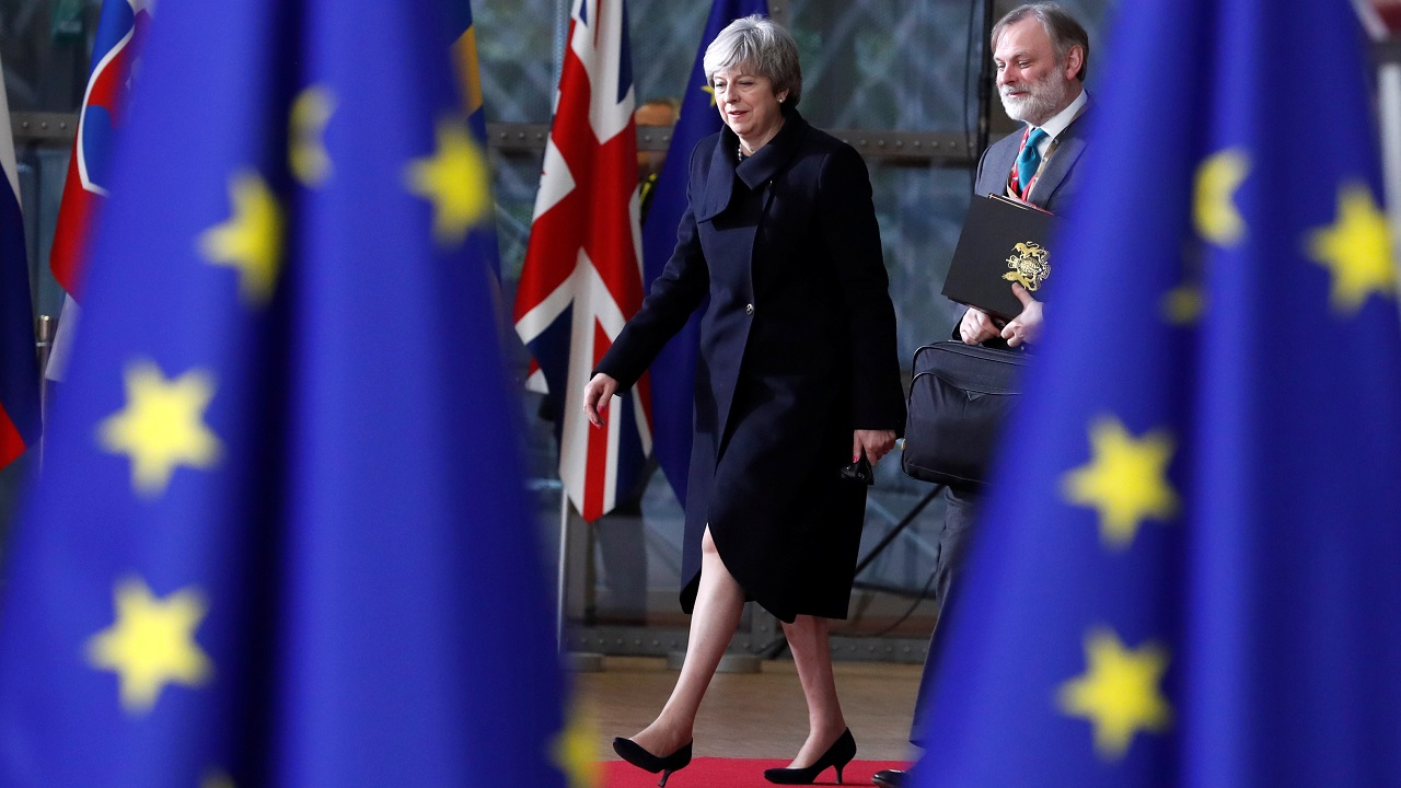 In a moment that marks victory for British Prime Minister Theresa May over her political opponents who wanted a softer approach to leave the European Union (EU), British lawmakers on Wednesday voted in favour of the government's legislative blueprint for Brexit. (Image: Reuters)