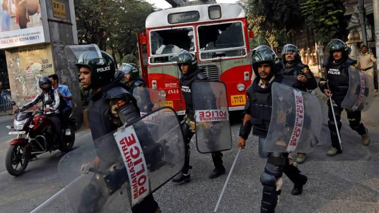 GALLERY | Maharashtra Bandh brings Mumbai to a halt | See Pictures