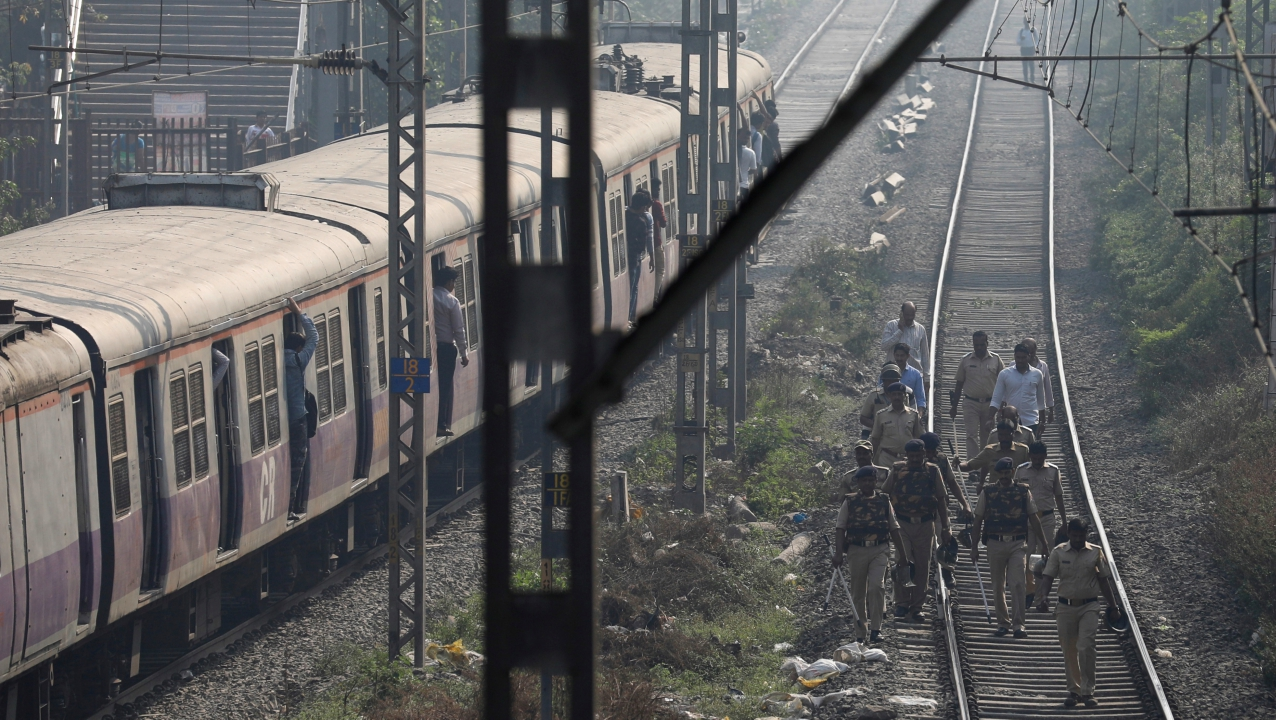 All three railway lines — Western, Central, and Harbour — have been affected by violent protests as protestors continued to stall train operations at Mulund, Chembur, Bhandup, Vikhroli, Goregaon, Dadar, Sion, Andheri Elphinston, Thane, Kurla and others. Shops, schools and local transports in some parts of the city are also shut due to violent protest across the city.
