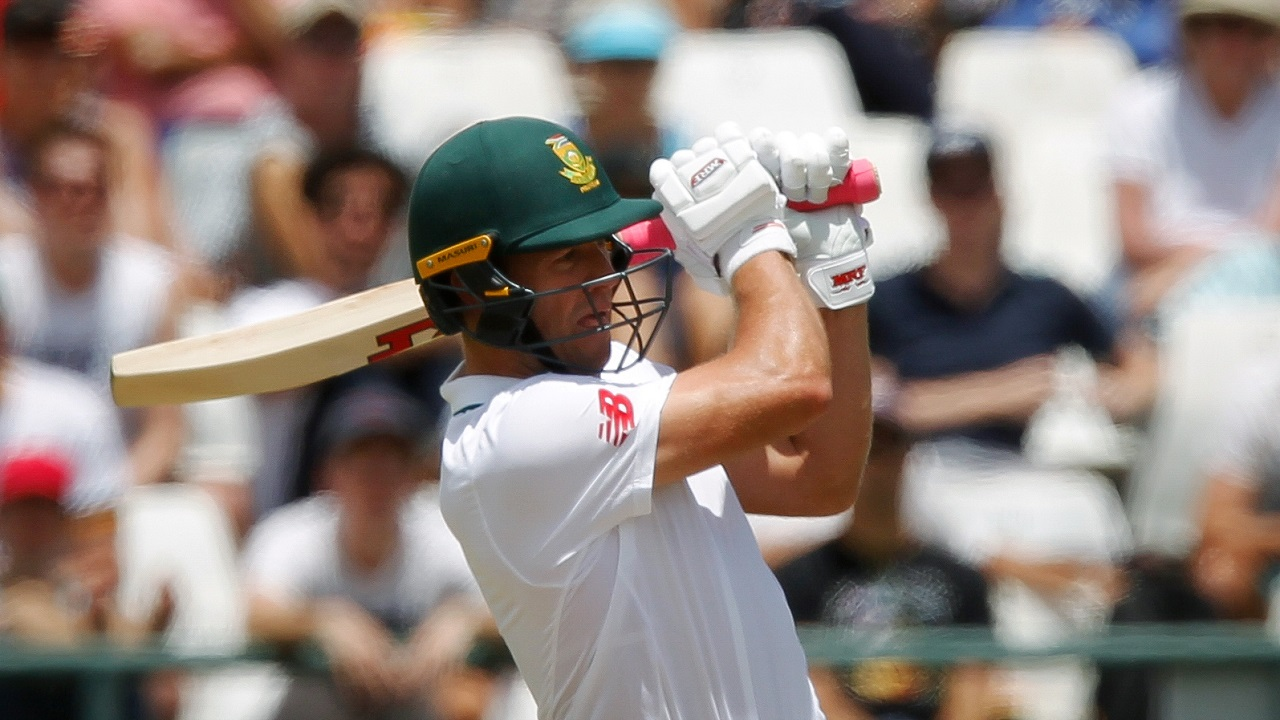 AB de Villiers | de Villiers was South Africa's highest scorer in both innings with 65 and 35 runs respectively. His partnership with Faf du Plessis not only stabilised their innings but also, helped amass a health total in the first inning. (Image: Reuters)