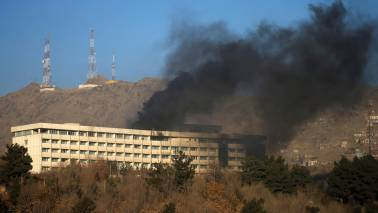 Blast strikes near major political gathering in Kabul