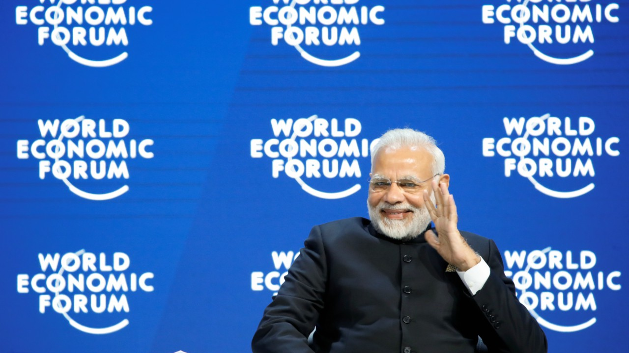"Modi also spoke of the waning power of globalisation, stating that organizations like the United Nations have not done much to help. ""Forces of protectionism are raising their heads against globalisation. They want to reverse its flow,"" he said"