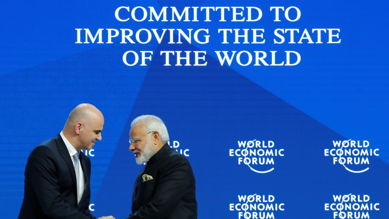 """The world has moved from needs-based to greed-based consumption,"" said Modi. This does not live up to the ideals of Gandhi, or the teachings of Buddha,he said."
