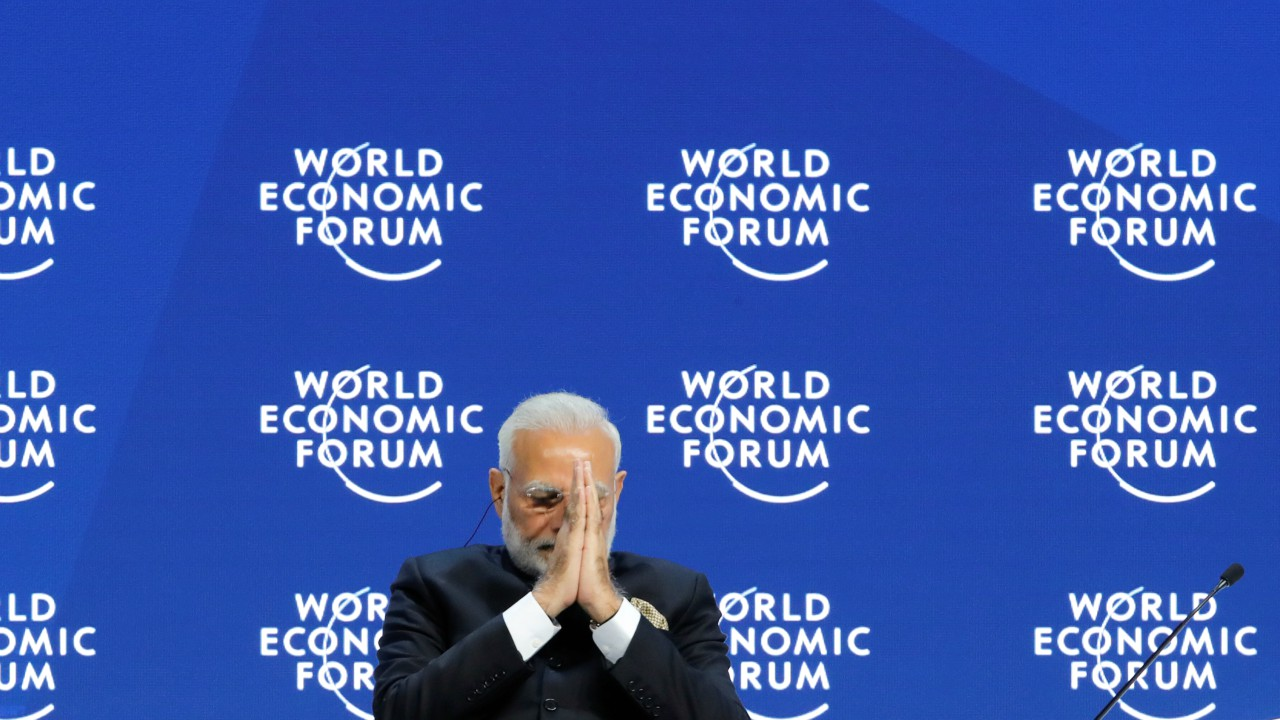 "Narendra Modi acknowledged the fact that he is the first Indian Prime Minister to attend the meet since 1997.""Very few people had heard of Osama Bin Laden, and Harry Potter was also an unknown name.Back then, Google didn't exist, a web search for Amazon would bring up a river or jungle, and tweeting was done by birds,"" said Modi."