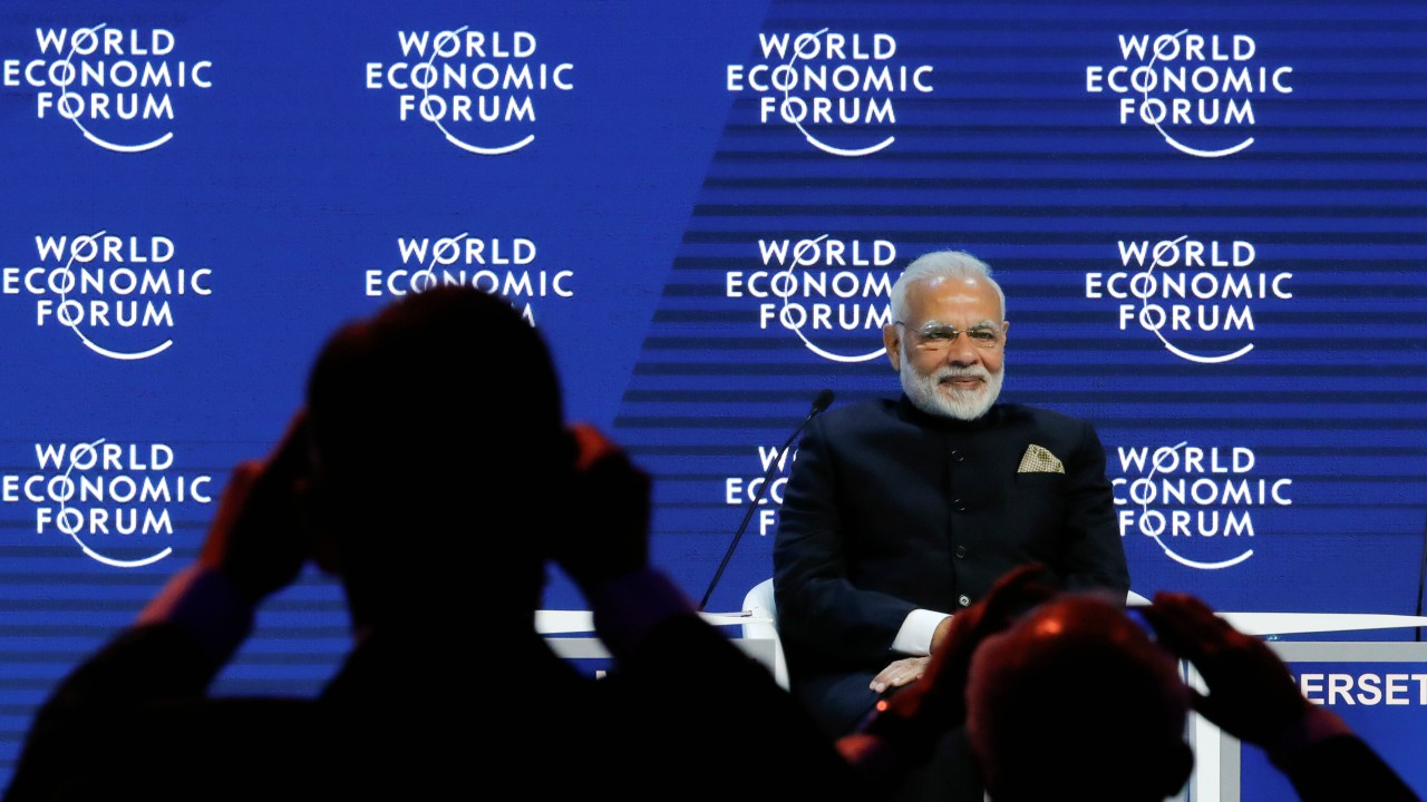 "Modi pledged to make India a USD 5 trillion economy by 2025, he also spoke of terrorism.""As dangerous as terrorism is, even more dangerous is the artificial divide created between good and bad terrorists,"" he said"