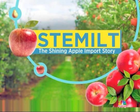 Stemilt Apple Import Story: The Washington Apple journey
