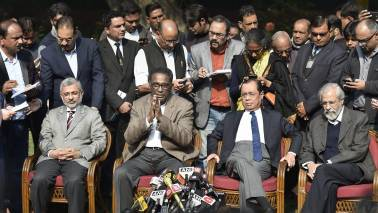 Chief Justice of India met four senior-most judges of Supreme Court: Sources